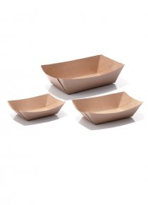 Braune Trays (Boats)